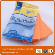 Все цель пробитой иглой ткани nonwoven ткань чистки кухни, вискоза и полиэстер ткань