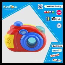 Brinquedo musical eletrônico do brinquedo do bebê da forma com a câmera leve do brinquedo dos desenhos animados