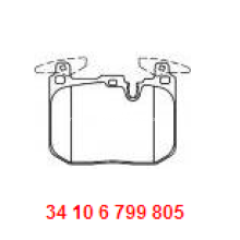 MITSUBISHI Brake Pad High Quality