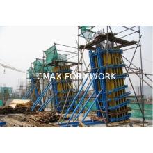 Adjustable H20 Timber Beam Formwork For Slant Concrete Column Formwork