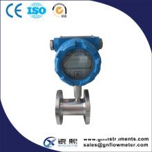 Medidor de flujo de la turbina para el agua