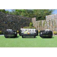 High-End Design Alle Wetter Rattan PE Sofa Set Für Outdoor Gartenmöbel