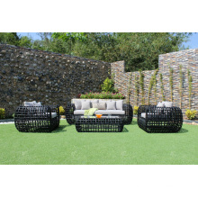 High-end Design All Weather Rattan PE Sofa Set For Outdoor Garden Furniture