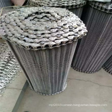 304 Balanced stainless steel wire mesh conveyor belt