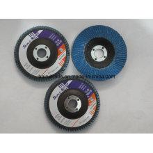 "Disco de metal de la fibra de vidrio T27 4 ""/ 100m m, disco de la aleta para las ventas"