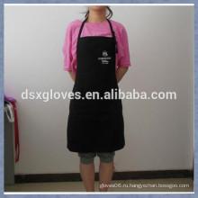Куртка для кормления Bib Apron Регулируемая вышивка Фартук Хлопок Черный фартук
