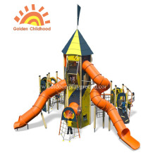 HPL Activity Tower Tube Slide Playground para niños