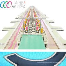 Doble fila de alta velocidad informática plana máquina de bordar