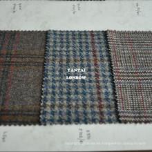 Estate tweed telas ligeras de prendas de lana