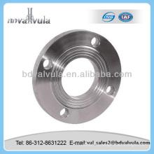 12820-80 flasque dn65 pn16 glissière en acier sur bride