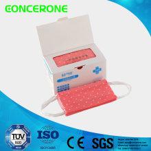 Wegwerfchirurgische Gesichtsmaske 17 * 9.5cm (Drucken)