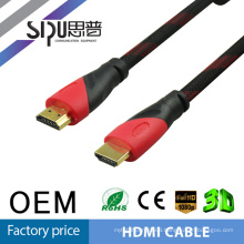 SIPU HOT Sell High speed New Premium 24k Gold plated HDMI cable 2160P 3D Ultra HD support HDMI 2.0 HDMI 1.4