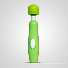 Imperméable à l'eau en caoutchouc tête AV masseur pour les femmes Injo-AV029