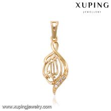 32771-Xuping фейк один кристалл женщин кулон современный
