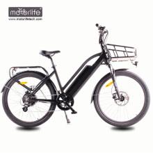 1000w BAFANG Mid Drive Morden Design niedrigen Preis elektrische Chopper Bike in China, 36v350w motorisiertes Fahrrad