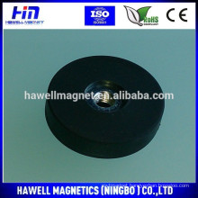 strong powerful rubber coated neodymium magnet