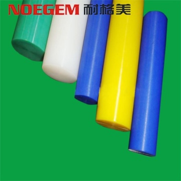 Witte PE UHMWPE HDPE kunststof staaf