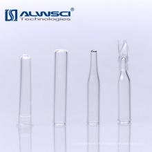 Fábrica de venta de micro inserto de vidrio para la cromatografía de gases 9-425 viales de inyección automática