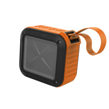Indoor Square Shape Mini Portable Bluetooth Wireless Speaker