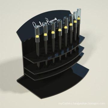 Black Acrylic Pen Racks, Super Quality Lucite Penholder