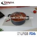 Le plus récent ensemble de batterie enduit en céramique populaire de chef de cuivre