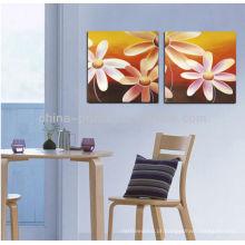 Pintura a óleo vendendo clássica clássica da flor impressa em canvas