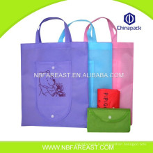 Фабрика прямой оптовой интенсификации красивый элегантный хозяйственная сумка ламинированные