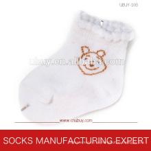 Baby's Pure Cotton von Lace Socks (UBUY-108)