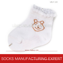 Baby′s Pure Cotton of Lace Socks (UBUY-108)