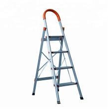 Escalera plegable de aluminio de 3 pasos