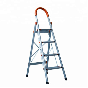 3 step Aluminium Folding Stick ladder