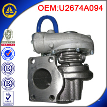 Turbocompresor GT2052S 727264-5001S con alta calidad