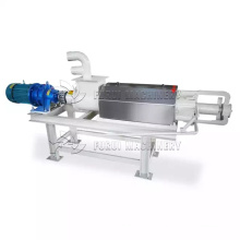 cow dung dewatering machine with agitator mixer for manure/innovative liquid solid separation equipment for cow manure