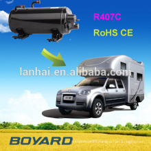 CE ROHS R407C R410A rooftop rotary air-cond compressor in air conditioner for RV CARAVAN