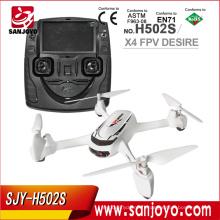 Hubsan X4 H502S Drone 5.8G FPV GPS Altitude mode RC Quadcopter avec 720p caméra Suivez-moi One Key Return Headless Drones