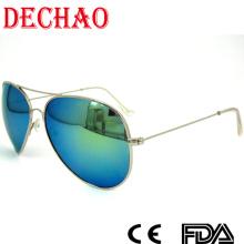 Fashion aviator metal sunglasses women