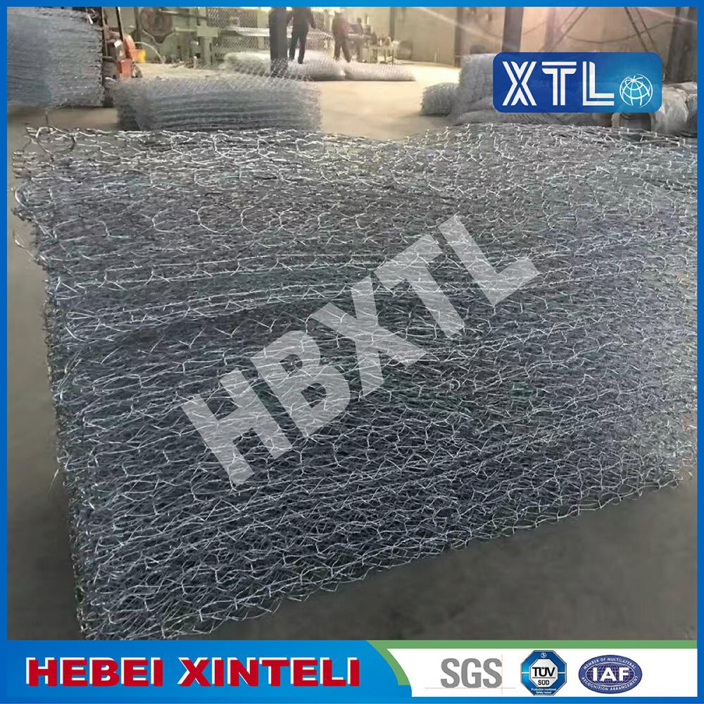 Galvanized Double Twist Hexagonal Mesh Gabion