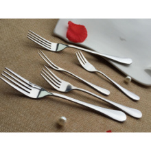 Stainless Steel Fork and Knife Set