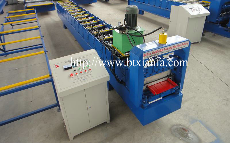Color Steel Sheet Self Lock Standing Seam Machines