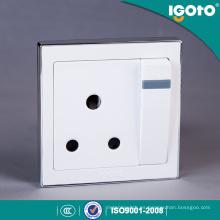 Interruptor y zócalo de alta calidad del precio de fábrica de Igoto British Style B9015 15A
