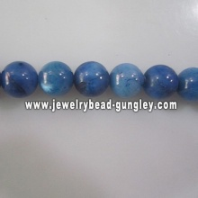 new dark blue ball shape fresh water shell