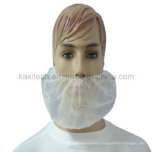 Protective Polypropylene Beard Cover Guard with Elastic