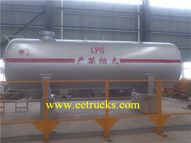 Horizontal Liquid Ammonia Tanks