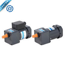 motor de indução trifásico monofásico da CA do peso da fase com caixa de engrenagens