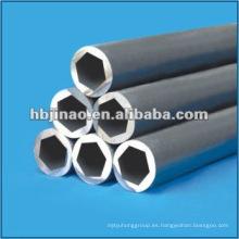 Tubo de acero sin soldadura hexagonal de calidad DIN 2391 estándar St52