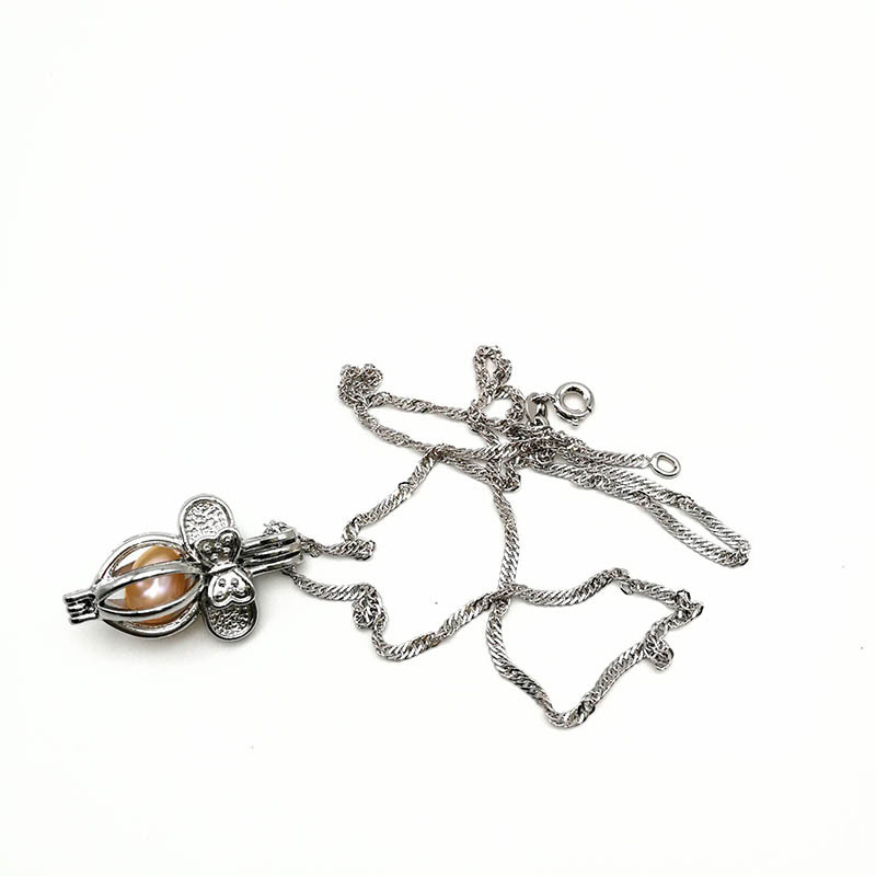 Hot Sale Alloy Cage Pendants Necklace