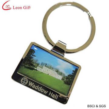 Custom Logo Hotel Keychain Print Keychain (LM1423)