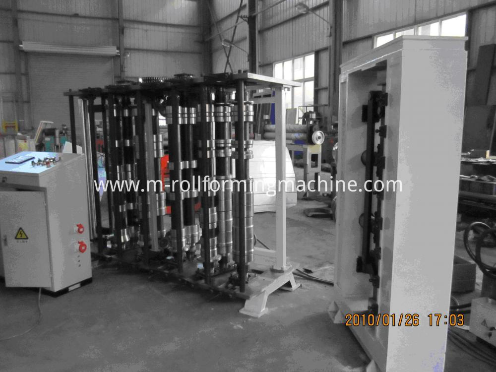 Grain Silo Plate Roll Forming Machine (1)