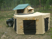 Car Canopy Roof Top Canopy with Canvas Walls