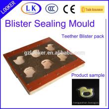 Blister Hot Heizung Siegelform